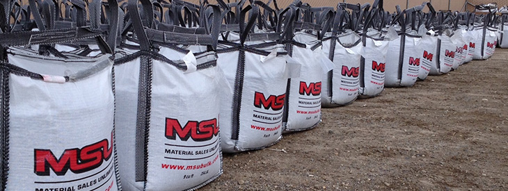 Material Sales Unlimited Header Bags